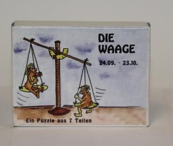 Sternzeichenpuzzle Wagge