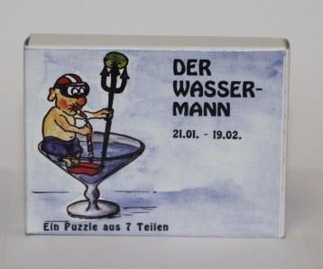 Sternzeichenpuzzle Wassermann