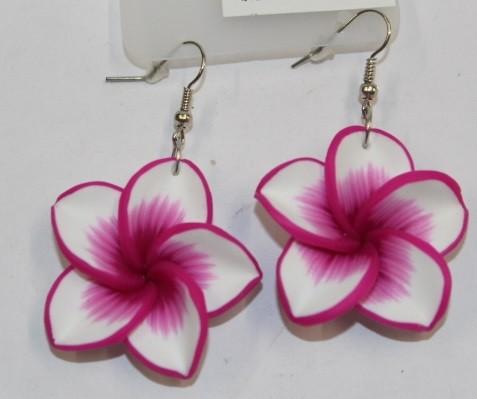 Blüten Ohrringe fuchsia