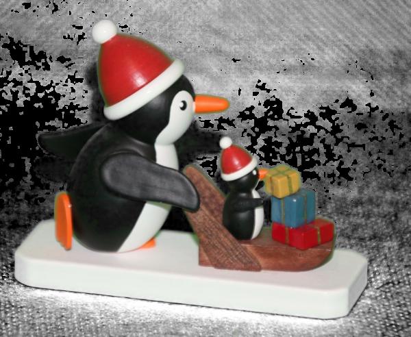 Pinguin Weihnachtsexpress
