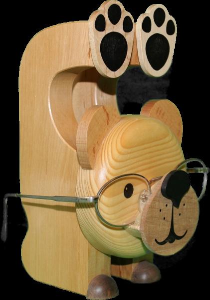 Brillenhalter Bär