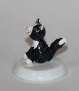 Katze schwarz