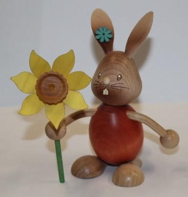 Stupsi mit Blume