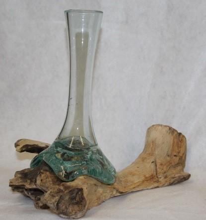 Liqva Teakholzwurzel als Vase 2