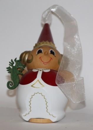 Burgfräulein weiß