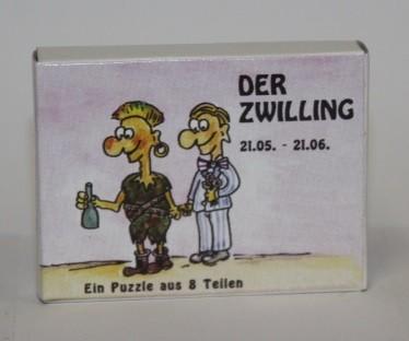 Sternzeichenpuzzle Zwilling