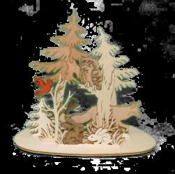 Teelichthalter Waldtiere