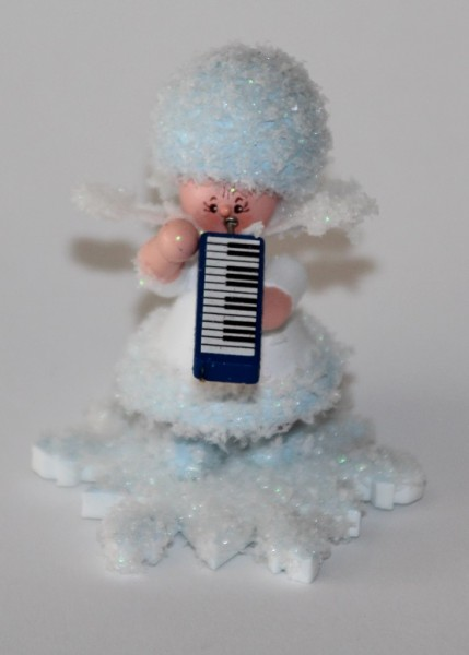 Schneeflöckchen mit Melodika