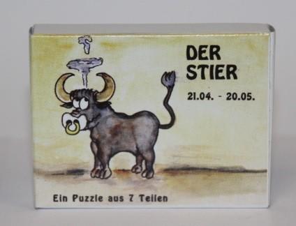 Sternzeichenpuzzle Stier
