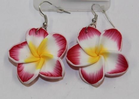 Blüten Ohrringe rot
