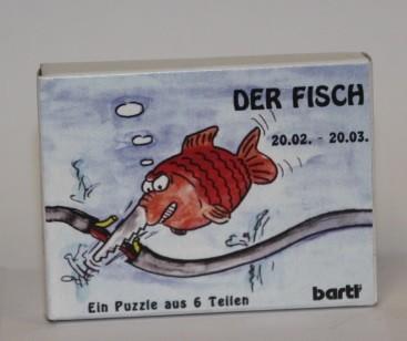Sternzeichenpuzzle Fisch