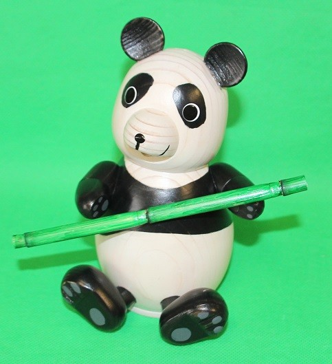 Oederaner Pandabär mit Bambus