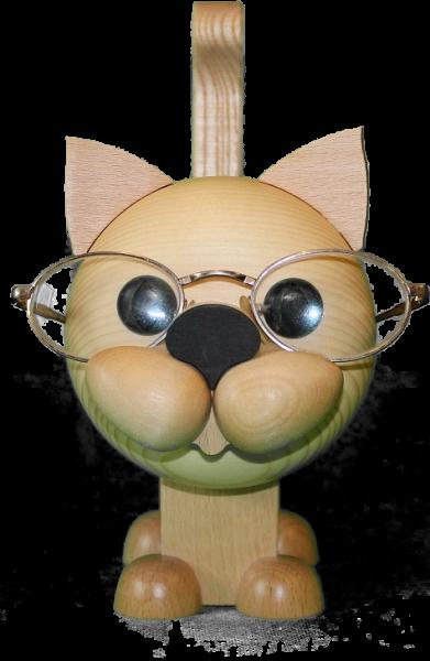 Brillenhalter Katze
