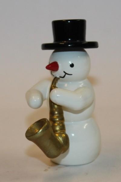 Schneemann Saxophon