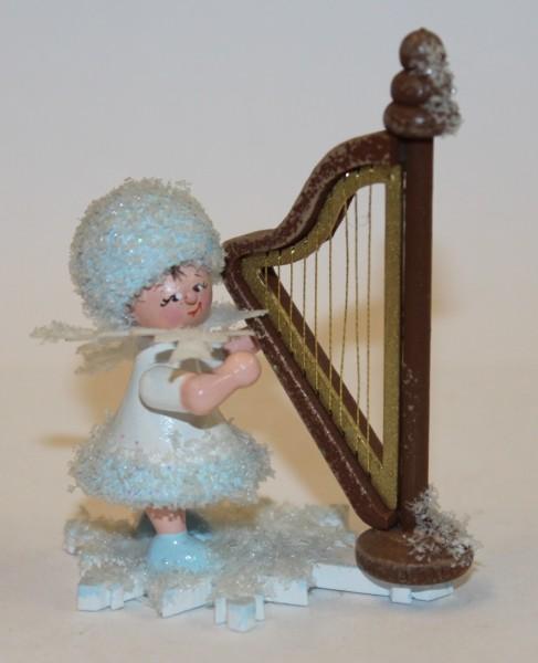 Schneeflöckchen Harfe