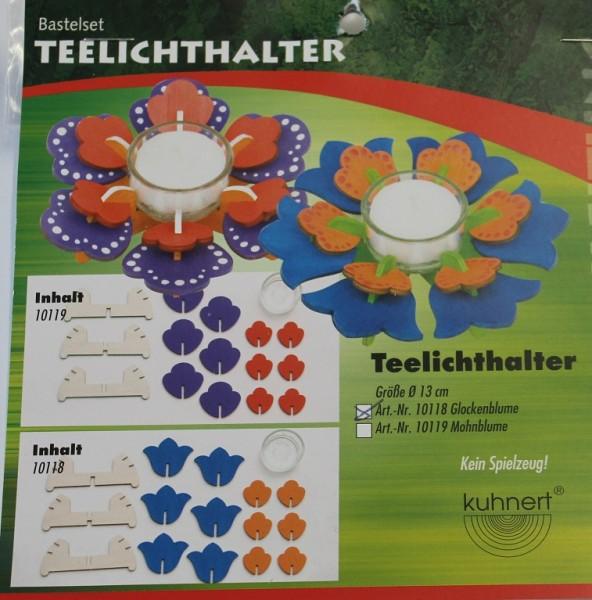 Teelichthalter Glockenblume