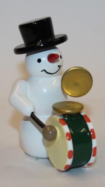 Schneemann Pauke mit Becken